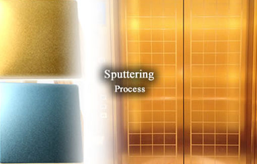 Sputtering Colored Stainless Steel Sheets
